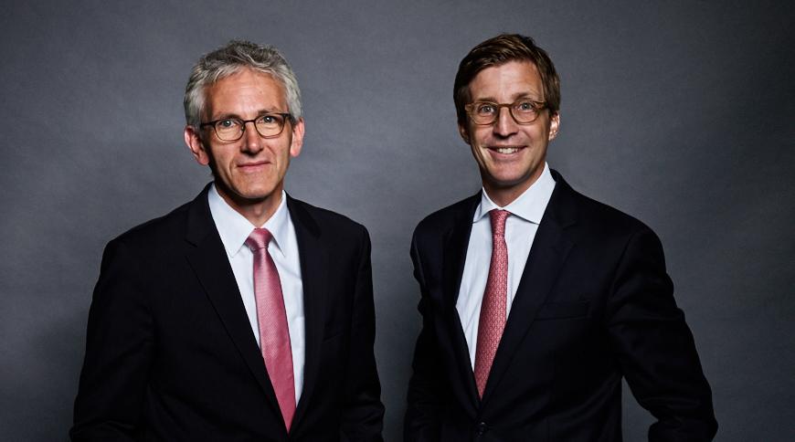 Gunter Dilling und Henning Münch
